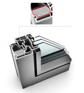 Wärmedämmung auch für Kunststoff-Fenster