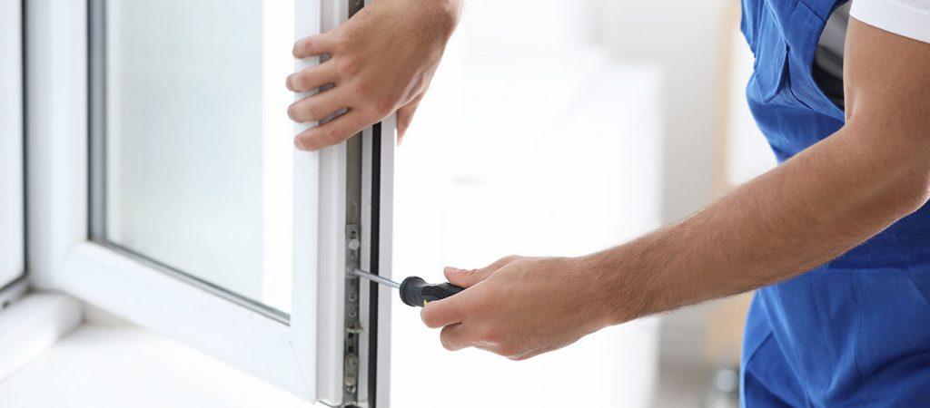Fensterservice - Einstellen des Schließmechanismus