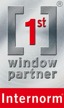 Logo Internorm First Window Partner